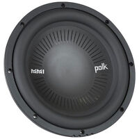 "POLK AUDIO 1200W 10"" MM1 SERIES Single 4 Ohm Car Subwoofer/Sub 