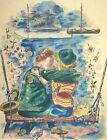 George Grosz, Lovers, the way of all flesh, Hand Signed Lithograph