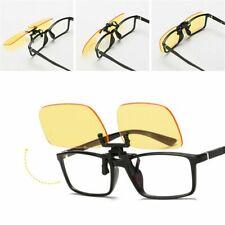 Clip On Blue Light Filter Blocking Computer Office Glasses Anti UV Strain Relief