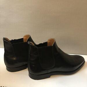 Crockett Jones Chelsea Leather Boots (UK-8.5)