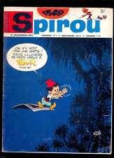 Spirou 1549 du 21.12.1967 bien complet avec les 8 fiches non détachées