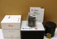 """Leica 11826 - Leica Summicron-M 1:2/50mm E39 """"1a Sammlerstück boxed"""" - OVP !"""