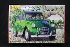 YS030 HELLER 1/24 maquette voiture 80765 Citroen 2 CV