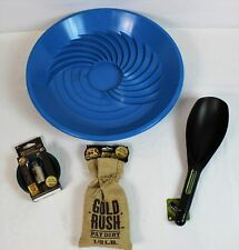 Gold Rush Assorted Panning Kit Blue Pan