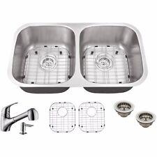"""Cahaba CASC0021 29-1/8"""" x 18-1/2"""" 18 Gauge Kitchen Sink"""