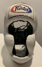 Fairtex Head Guard for Boxing Sparring Muay Thai Sz Medium Adult