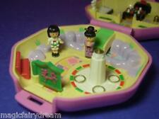 Polly Pocket Mini ♥ Suki's Japanese Tea House ♥ 100% Komplett ♥ 1990 ♥2 Pollys ♥