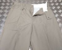 Genuine British Army Tropical Issue Stone Safari Uniform Trousers - Asst Sizes N