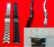 CINTURINO ACCIAIO  IMMERSION  WHALE  AUTOMATIC CHRONOGRAPH QUARTZ  STRAP STEEL