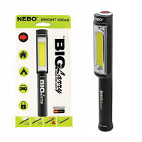 NEW Nebo BIG LARRY Work Light & Emergency Red Flasher with Duracell Batteries