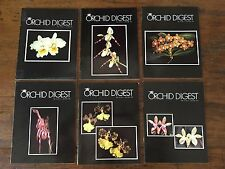 THE ORCHID DIGEST 6 VOLS 1979
