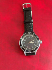 Vostok Amphibian Soviet diver  military USSR watch  21 stones -good condition