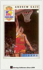 1993 Futera Australia Basketball Cards NBL Honours Award H8: Andrew Gaze