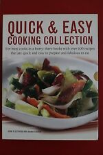 QUICK & EASY COOKING COLLECTION - 3 BOOK BOX SET Jenni Fleetwood & Joanna Farrow