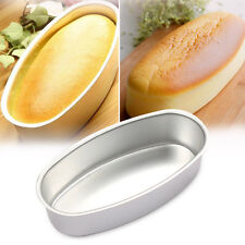 Oval Shaped DIY Cheese Cake Mold Non-stick Home Kitchen Baking Tool Bakeware