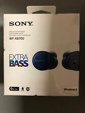 New listing New! Sony Wf-Xb700 True Wireless Earbuds with Extra Bass (Blue) Sealed