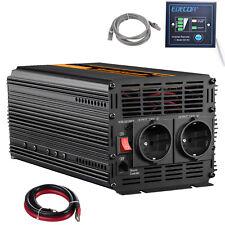 Power Inverter 220V 12V 2000W 4000 watt convertisseur onduleur Softstart Car RV