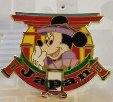 Disney Pin Epcot World Showcase Japan Pin Minnie Mouse Free Shipping