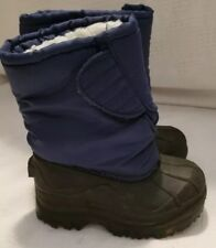 Kid Connection NEW Sz 6 blue Toddler Boots Insulated EUC