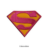 Super Woman Super Hero Movie Embroidered Patch Iron on Sew On Badge
