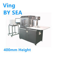 BY SEA Multifunction Auto CNC Metal Channel Letter Bending Machine 400mm Height