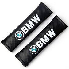 2pcs Black Color Car Seat Belt Cover Pads Shoulder Cushion for BMW