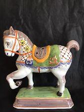 Nouvelle annonce Superb large Delft tin glazed Horse 24cm tall 23cm long 8:5cm wide