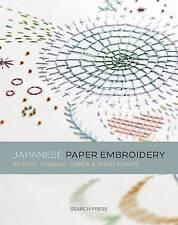 Japanese Paper Embroidery by Kamio, Mari|Chiba, Minako (Paperback book, 2015)