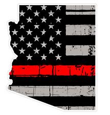 Arizona State (C5) Thin Red Line Vinyl Decal Sticker Car/Truck Laptop/Netbook