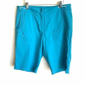 Tail Tech Blue Shorts Pleated Pockets NWTS