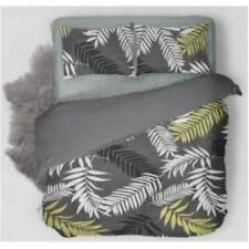 Home deals Bedsheet Ornamental Plants With Pillow Case