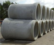 1:50 scale - Concrete drainage pipes 6 pc - Construction site / Lorry load