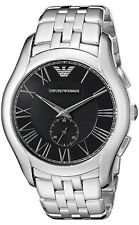 df1c4f9aa2c Emporio Armani Stainless Steel Case Silver Band Wristwatches