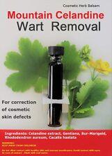 Fast Wart Removal – Mountain Celandine Balm - Against Warts Papilloma Hard Corns