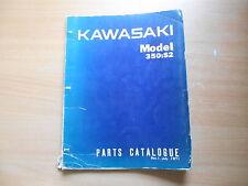 Parts catalog Kawasaki 350 S3 Teile Katalog Werkstatthandbuch