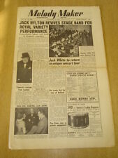 MELODY MAKER 1950 NOVEMBER 18 JACK HYLTON ROYAL VARIETY LONDON PALLADIUM