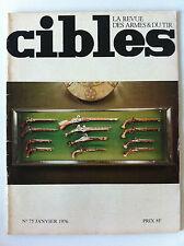 CIBLES n°75 du 01/1976; Marie Christine Ventrillon/ Armes automatique Johnson