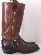"Dan Dino 5364 Motorcycle Biker Square Toe Stirrup Riding 13"" Boots Men's US 8M"