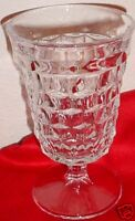 """Fostoria American Low Footed Goblet Water Stem 5 1/2"""""""