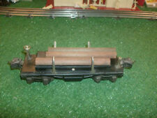 Lionel Trains Prewar No. 3651 Operating Lumber Car - Very Nice