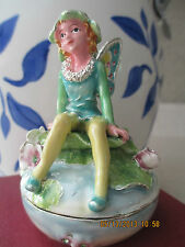 Fairy ~ Enamel Trinket Box #3424