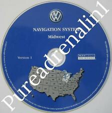 2004 VW TOUAREG SPORT UTILITY WAGON AWD NAVIGATION MAP CD 5 MIDWEST IN WI IL MI