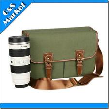 DSLR SLR Canvas Digital Camera Shoulder Sling Message Bag CC-43AL