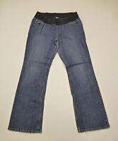 Liz Lange Maternity Womens Size 2 Blue Stretch Maternity Jeans Good Condition
