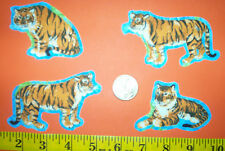 New! Cool! TIGERS KITTY CATS Iron-on Fabric Appliques ~ Iron ons