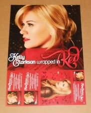 Kelly Clarkson Wrapped in Red Christmas Double Sided Flat 2013 Promo Poster