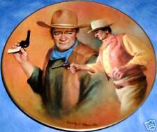 John Wayne The Duke American Frontier (1984) Plate