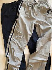 New listing Boys Athletic Workout Pants, Navy, Gray Large(14-16), Euc ! Lands End Oshkosh
