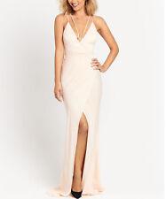 BNWT MYLEENE KLASS BLUSH PINK STRAPPY MAXI DRESS SIZE UK 14 RRP £100