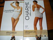 guaina culotte alta CHARME modellante senza gamba linea ELEGANCE Tg 4 nero